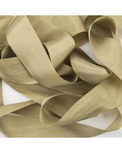 May Arts Taupe (Colour 35) 32mm Pure Silk Ribbon x 1m