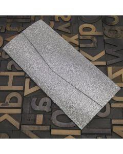 Enfolio Pocketfold (DL) - Silver Glitter Card