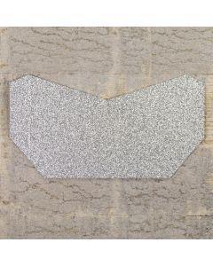 Enfolio Tentfold (Lg Sq) Add on Pocket - Silver Glitter Card