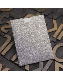 Enfolio Wallet Mini - Silver Glitter Card