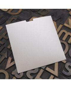 Enfolio Wallet 125mm Sq - Soft Sheen Ivory