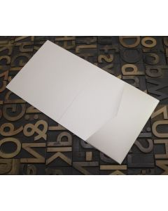 Enfolio Tentfold (Lg Sq) and Add On Pockets - Soft Sheen Ivory