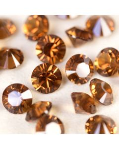 Smoked Topaz - Factory Pack of 720 SS24 Table Diamonds