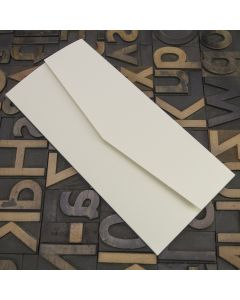 Enfolio Pocketfold (DL) - Silkweave Ivory