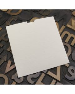 Enfolio Wallet 125mm Sq - Silkweave Ivory