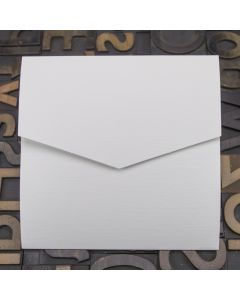 Enfolio Pocketfold (Lg Sq) - Silkweave White