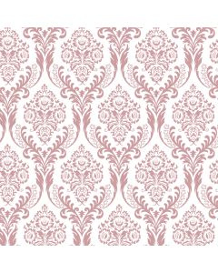 Tatton Dusky Pink Decorative Paper - Zoom