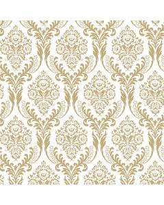 Tatton Gold Decorative Paper - Zoom