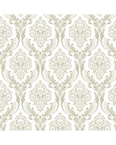 Tatton Ivory Decorative Paper - Zoom