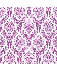 Tatton Purple Decorative Paper - Zoom
