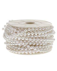 5mm Pearl Trim 1m - White