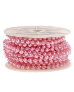 5mm Pearl Trim 1m - Pink