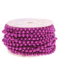 5mm Pearl Trim 1m - Purple