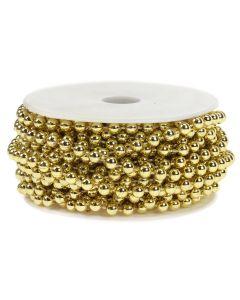 5mm Pearl Trim 1m - Gold