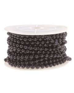 5mm Pearl Trim 1m - Black