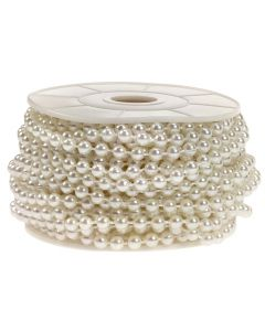 5mm Pearl Trim 1m - Ivory