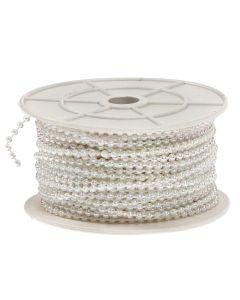 3mm Pearl Trim 1m - Iridescent