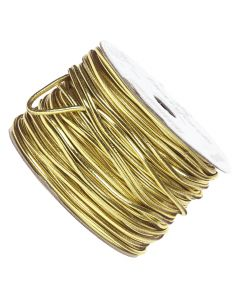 Gold Metallic Elasticated Cord - Roll