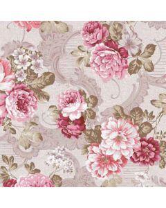 Victorian Floribunda Decorative Paper - Zoom