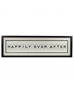'Happily Ever After' Vintage Playing Cards Frame