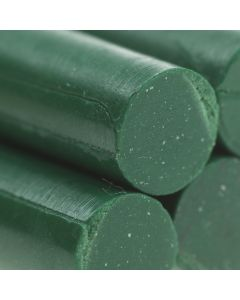 Traditional Green Glue Gun Sealing Wax Sticks (Matt) - 8mm