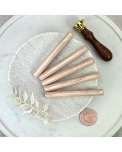Champagne Glue Gun Sealing Wax Sticks (Pearl) - 11mm