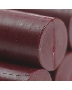 Burgundy Glue Gun Sealing Wax Sticks (Matt) - 11mm