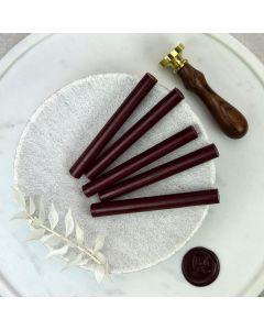 Burgundy Glue Gun Sealing Wax Sticks (Matt) - 11mm