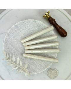 Ivory Pearl Glue Gun Sealing Wax Sticks (Pearl) - 11mm