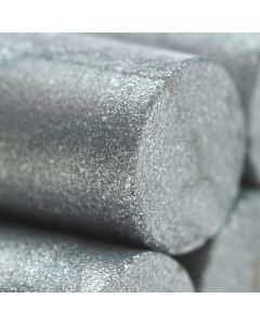 Silver Glue Gun Sealing Wax Sticks  (Pearl) - 11mm