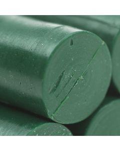 Traditional Green Glue Gun Sealing Wax Sticks (Matt) - 11mm