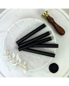Black Glue Gun Sealing Wax Sticks (Matt) - 11mm