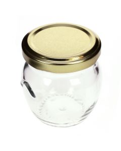 Rounded Glass Wedding Favour Jar