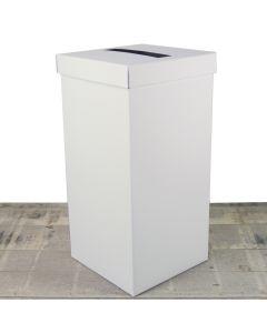 Delux Silkweave Ivory Post Box