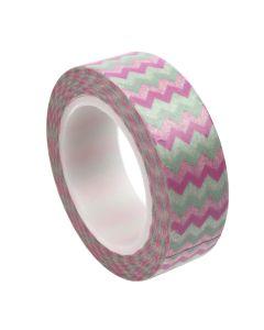 Washi Tape - Chevron Pink/Aqua