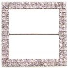 Chair Bow / Cake Buckle - Duo Diamante Square