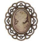Antique Cameo (Sepia) Embellishment