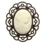 Antique Cameo (Ivory)
