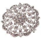 Helios Diamante Brooch
