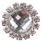 Diamante Gem Circle Embellishment