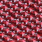 Burgundy Diamante Sheet - Zoom