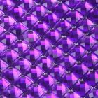 Purple Diamante Sheet - Zoom