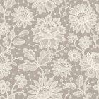 Duchesse Lace Pearl Decorative A4 Paper - Zoom