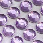 6mm Lilac Self Adhesive Jewel Gems