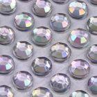 4mm AB Effect Self Adhesive Jewel Gems
