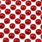 6mm Flat Backed Self Adhesive Pearls - Red - Zoom