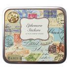 Ephemera Stickers - Tin