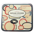 Vintage Decorative Stickers - Labels - Tin