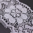 73mm Wide White Vintage Style Lace