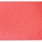 7mm Berisfords Satin Ribbon - Coral Colour 22